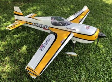 "**SALE** Skywing 101"" Laser 260 - B  Covered - Yellow"